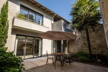 Montargent - Gites - Lower - Courtyard 1